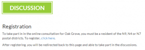 Oak Grove - registration
